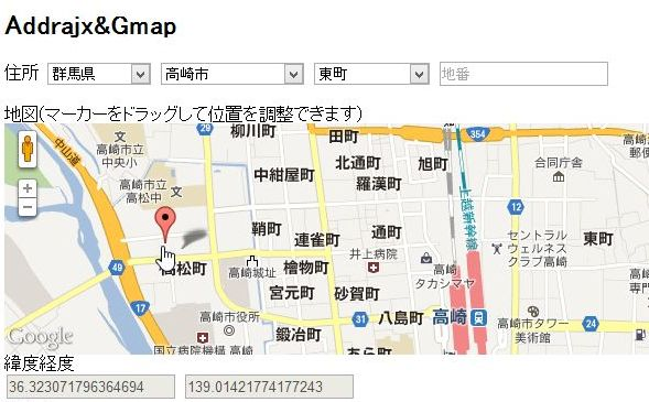 addrajxGmap