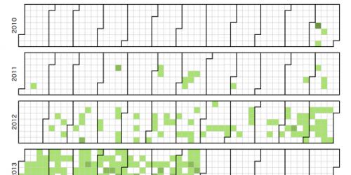 Calendar Planner Nodejs : 【d js node js】 ブログのデータをgithub風のカレンダーに表示する gunma gis geek