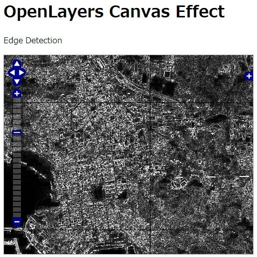 openlayers Canvas effect