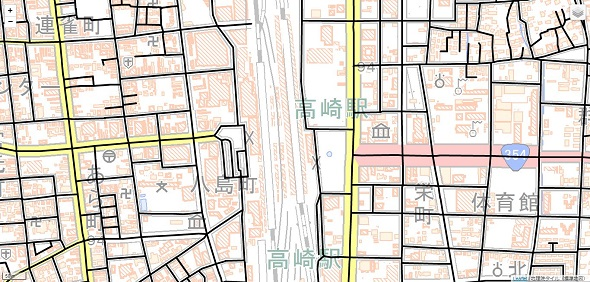 ベクトルタイルマップ