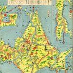 1936年の日本国立鉄道地図