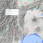 日本の地形地図