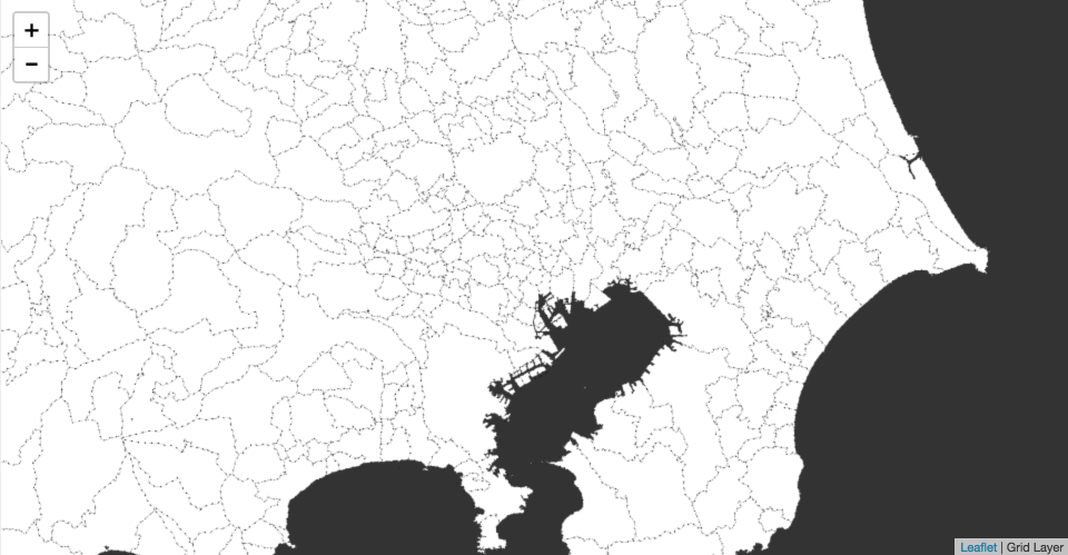 GeoJSONをフロントエンドでベクトルタイル化して表示する。 – GUNMA GIS GEEK